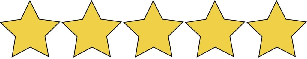 5-Stars Ratings! Only the best of the best!